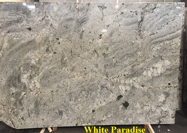 Buy White Paradise Granite Slabs Amp Countertops In Dallas